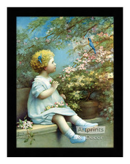 The Song of Happiness - Framed Art Print