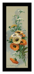 Black-Eyed Susans - Framed Art Print*