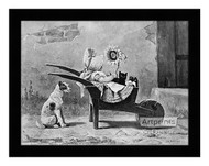 Carriage Folk - Framed Art Print