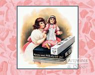 Mama Wears W.B. Nuform - Vintage Ad Art Print