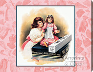 Mama Wears W.B. Nuform - Stretched Canvas Vintage Ad Art Print
