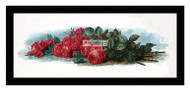 American Beauty Roses - Framed Art Print