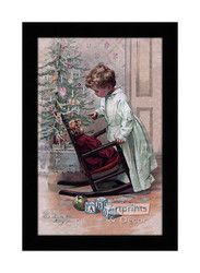 Did Santa Claus Bring You? - Framed Art Print