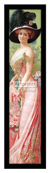 Society Lady - Framed Art Print*