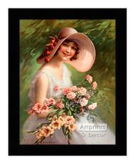 Smiling Through - Framed Art Print