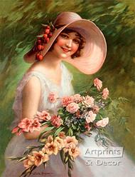 Smiling Through by Zula Kenyon - Art Print