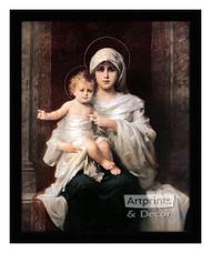 Madonna & Child - Framed Art Print