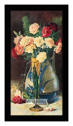 Carnations II - Framed Art Print