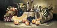 Fruit & Wine by Harry Hadland - Art Print