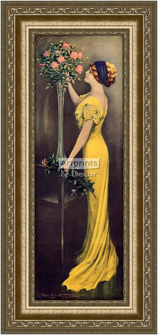 Grace Framed Art Print By Charles Allan Gilbert At