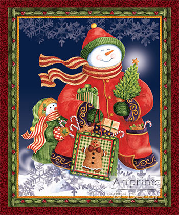 Merry Moments by Vicky Howard - Art Print