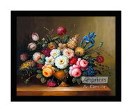 Garden Bouquet - Framed Art Print