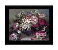 Floral Arrangement - Framed Art Print