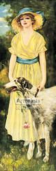Estelle by Frederick Duncan - Art Print