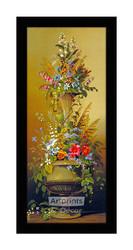 Floral Study II - Framed Art Print