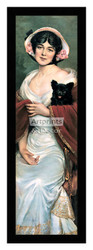 Pompeian Beauty by Carle J. Blenner - Framed Art Print