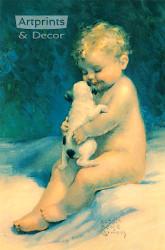 Chums by Bessie Pease Gutmann - Art Print