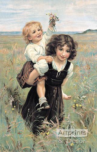 Happy Times by Frederick Morgan - Art Print