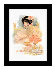 The Girl For A Supper - Framed Art Print