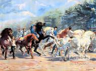 Horse Fair by Rosa Bonheur - Art Print
