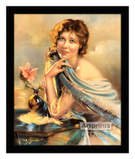 Charming by W.B. Poynter - Framed Art Print