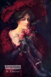 Talia by James Bryson - Art Print