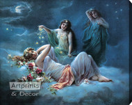 Dreamland by C. Zutzku - Stretched Canvas Art Print