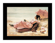 By The Sea Shore - Framed Art Print