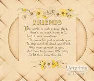 Friends - Art Print