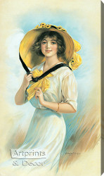Melanie by William Haskell Coffin - Stretched Canvas Art Print