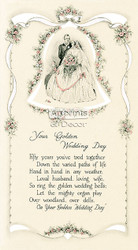 Your Golden Wedding Day - Art Print