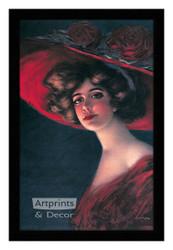 Scarlett - Framed Art Print