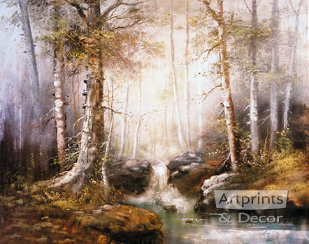 In Quiet Waiting by William Henry Chandler - Art Print
