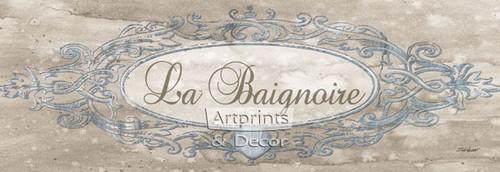 La Baignoire Sign by Todd Williams - Framed Art Print