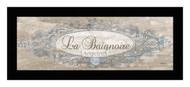 *La Baignoire Sign - Framed Art Print