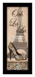 *Travel in Style I - Ooh La La - Framed Art Print