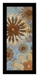*Floral Abstract I - Framed Art Print