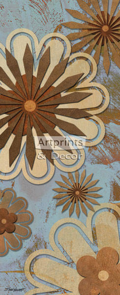 Floral Abstract I by Todd Williams - Art Print