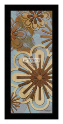 *Floral Abstract II - Framed Art Print