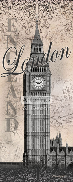 Big Ben (London) by Todd Williams - Art Print