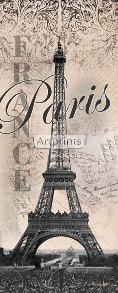 Eiffel Tower - Paris by Todd Williams - Framed Art Print