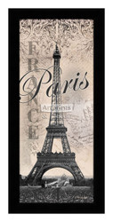*Eiffel Tower - Paris - Framed Art Print