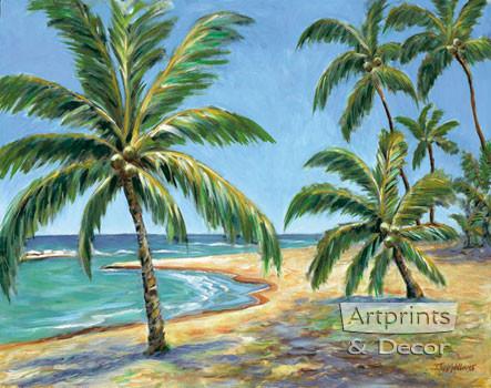 Tropical Beach by Todd Williams - Art Print