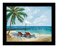 *SeaSide - Framed Art Print