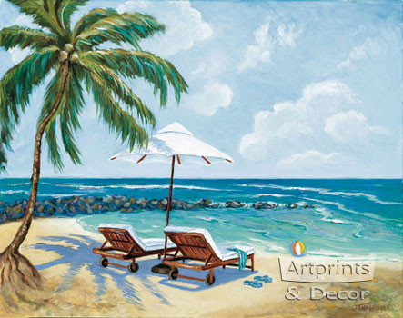 SeaSide by Todd Williams  - Art Print