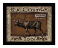 *Elk Country Inn - Framed Art Print