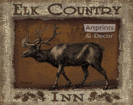 Elk Country Inn by Todd Williams - Art Print