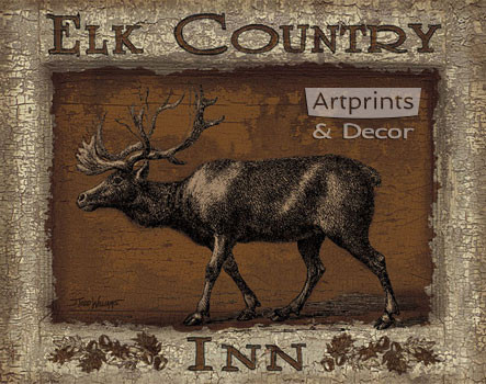 Elk Country Inn by Todd Williams - Art Print