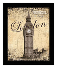 *London - Framed Art Print
