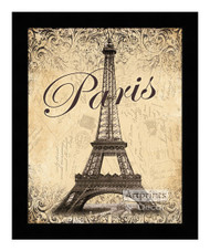 *Paris - Eiffel Tower - Framed Art Print